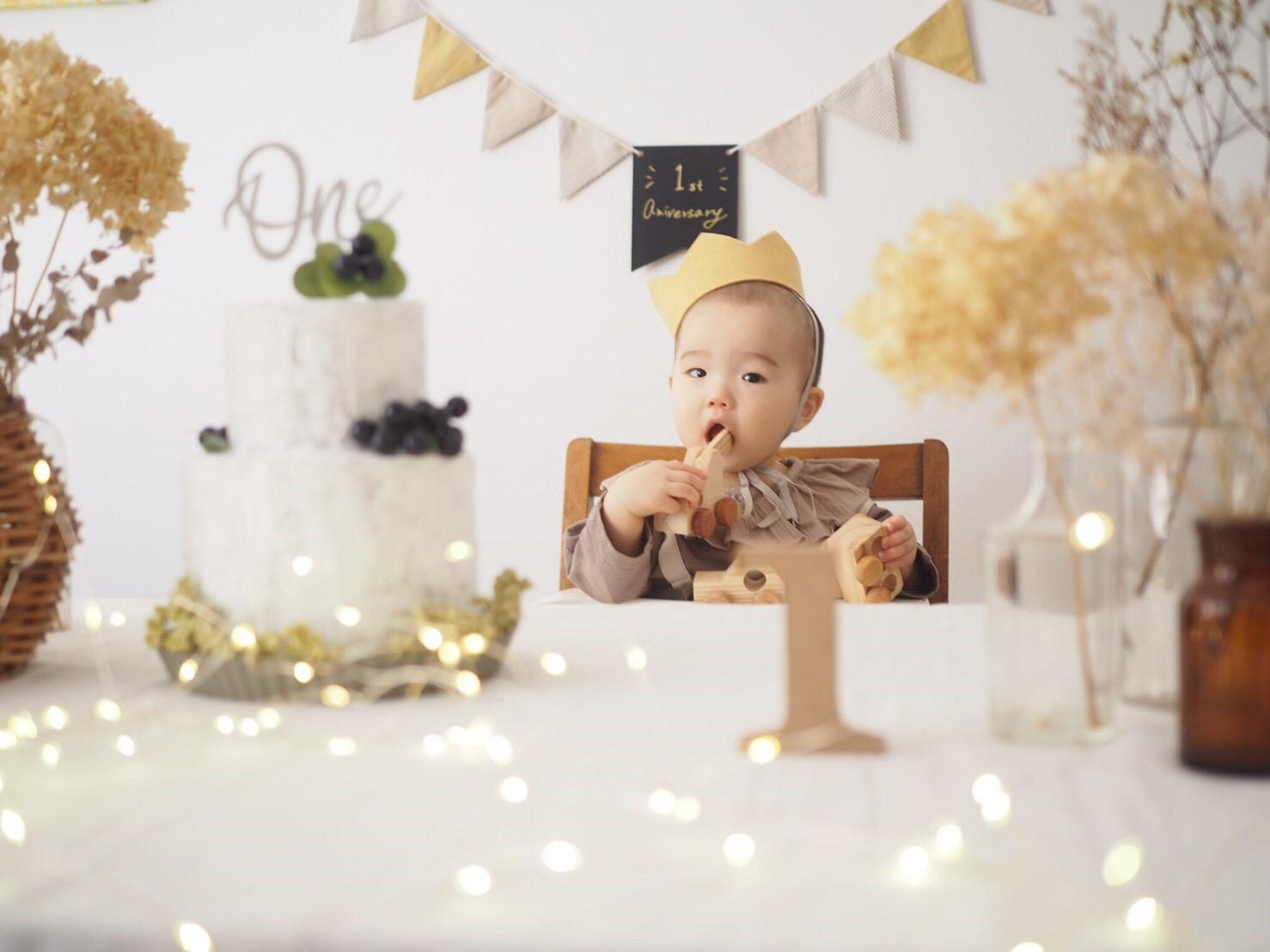 1歳誕生日特集